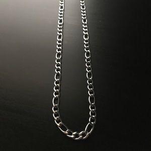 Silver 6mm Figaro Chain